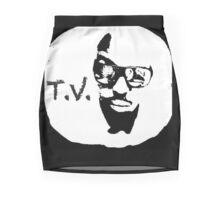 'T. V.' THE OFFICIAL T.V.-LOGO Mini Skirt