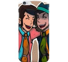 lupin & jigen iPhone Case/Skin