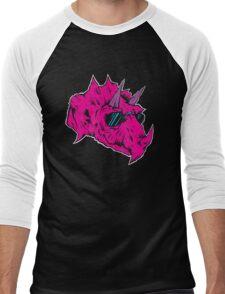 Triceraboss No. 1 Men's Baseball ¾ T-Shirt