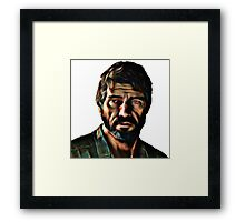 Joel The Last Of Us Framed Print