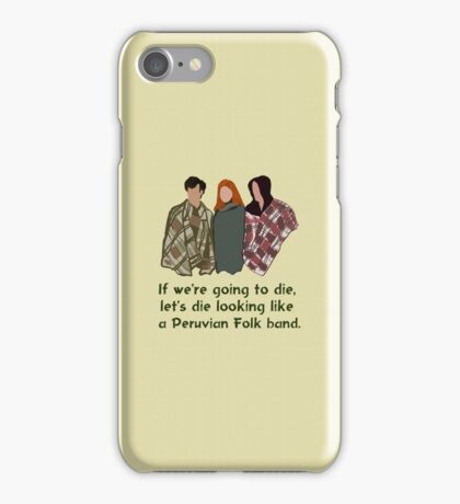 Peruvian Folk Band iPhone Case/Skin