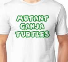 Mutant Ninja Turtles Weed Unisex T-Shirt