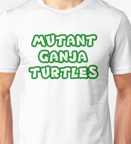 Mutant Ninja Turtles Weed Unisex T-Shirt