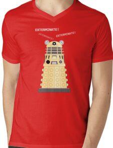 Dalek - exterminate ! exterminate ! exterminate !! Mens V-Neck T-Shirt