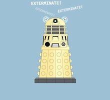 Dalek - exterminate ! exterminate ! exterminate !! Unisex T-Shirt