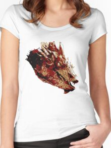 Smaug the Unassessably Wealthy Women's Fitted Scoop T-Shirt