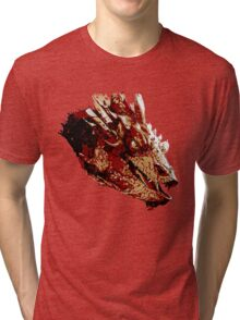 Smaug the Unassessably Wealthy Tri-blend T-Shirt