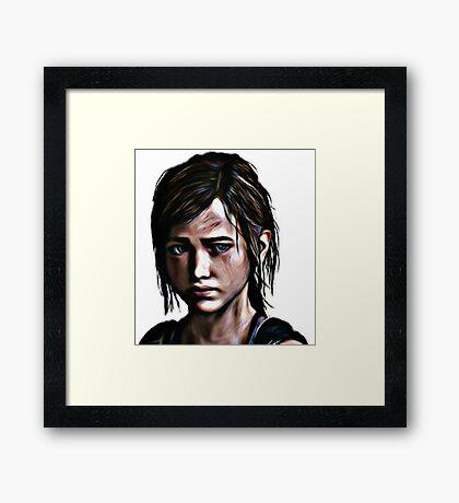 The Last Of Us Ellie Framed Print