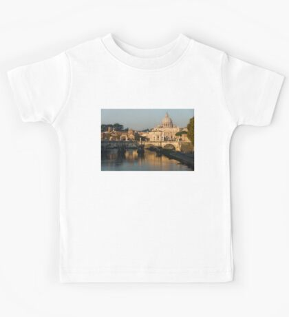St Peter's Morning Glow - Impressions Of Rome Kids Tee
