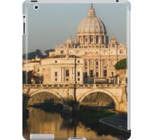 St Peter's Morning Glow - Impressions Of Rome iPad Case/Skin