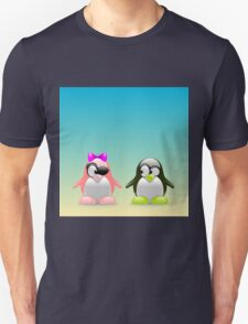 two little penguins Unisex T-Shirt