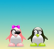 two little penguins by dedoma