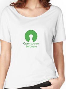 open source software Women's Relaxed Fit T-Shirt