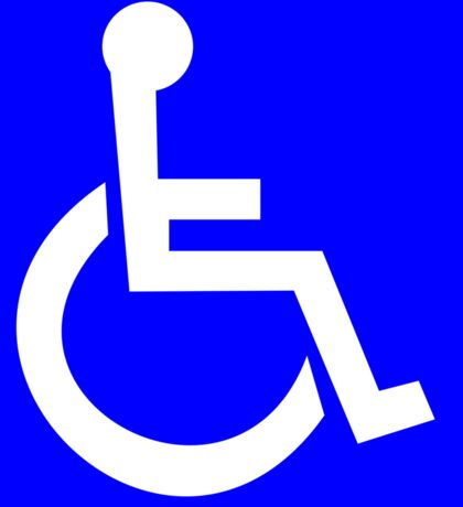 Official International symbol of access  Sticker