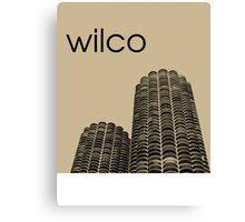Wilco Canvas Print