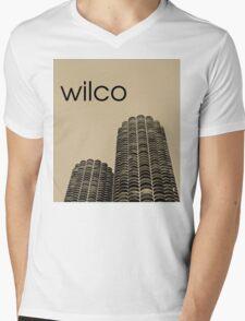 Wilco Mens V-Neck T-Shirt