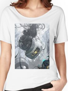 GLaDOS Women's Relaxed Fit T-Shirt