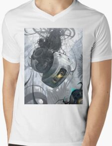 GLaDOS Mens V-Neck T-Shirt
