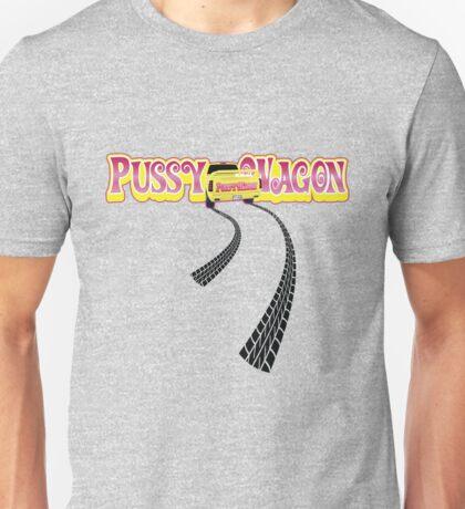 Pussy Wagon - Long Tracks Variation 2 Unisex T-Shirt