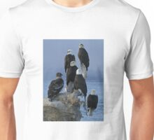 STOCK ~ Amongst Friends ~ Homer, Alaska Unisex T-Shirt