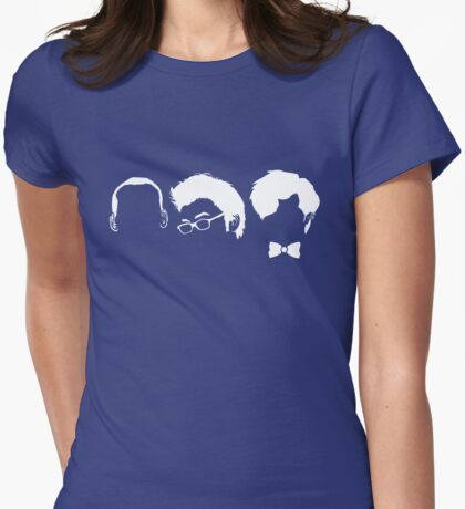 Three Doctors Womens Fitted T-Shirt