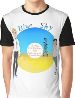 Portal Blue Sky Graphic T-Shirt