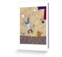 Acrobatics  Greeting Card