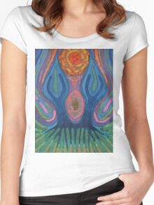 Idyll Women's Fitted Scoop T-Shirt