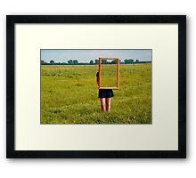 Surreal Frames Framed Print