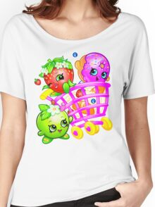 Shopkins basket 4 Women's Relaxed Fit T-Shirt