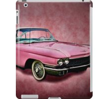 I love you for your pink cadillac iPad Case/Skin
