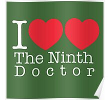 I Heart Heart The Ninth Doctor Poster