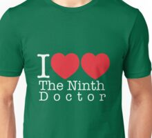 I Heart Heart The Ninth Doctor Unisex T-Shirt
