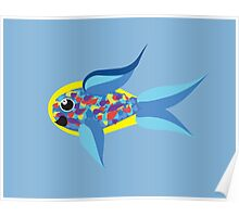 Tropical Rainbow Fish (Please Read Description) Poster