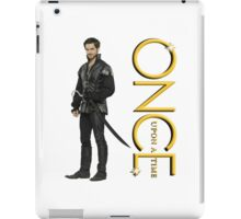 OUAT, once upon a time, OUAT hook, hook iPad Case/Skin