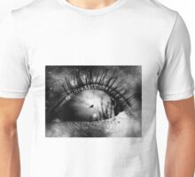 The bird on the wire Unisex T-Shirt