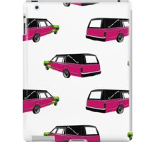 Pink Hearse iPad Case/Skin