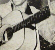 Elvis Presley  EP cover Pink & Green Rockabilly Sticker