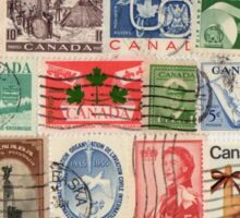 Canadian Stamps Sticker