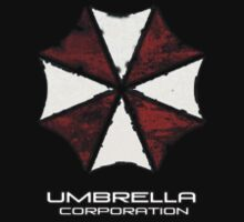 Umbrella Corporation Apparel Hoodie, T-Shirt, or Sticker Kids Tee