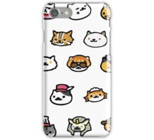 Neko Atsume Rare Cats! iPhone Case/Skin