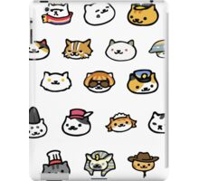 Neko Atsume Rare Cats! iPad Case/Skin