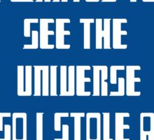 See the Universe Sticker