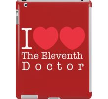I Heart Heart The Eleventh Doctor iPad Case/Skin