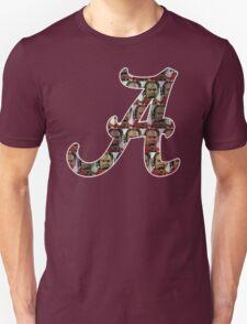 """Alabama Nick Saban """"A"""" Unisex T-Shirt"""