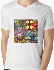 Ozlife Mens V-Neck T-Shirt