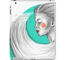 Train of waves. iPad Case/Skin