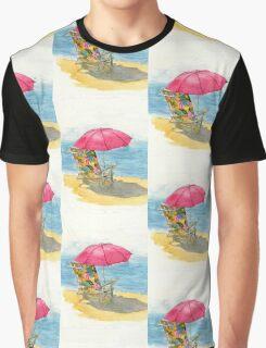 Beach Chair Graphic T-Shirt