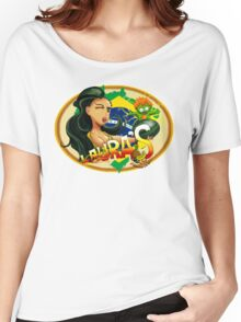 Laura's Fresh Fruit Store ( Laura Street Fighter V ) Women's Relaxed Fit T-Shirt