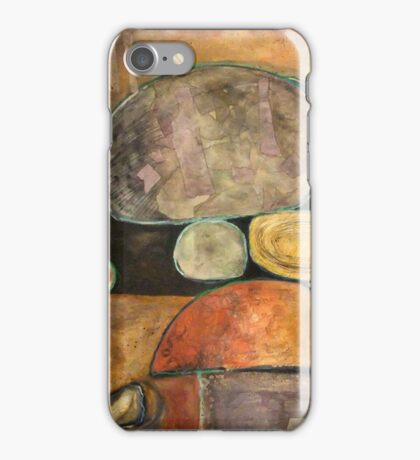 Les Pierres Jamatres (granite landscape in France) iPhone Case/Skin